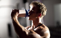 whey protein before and after workout